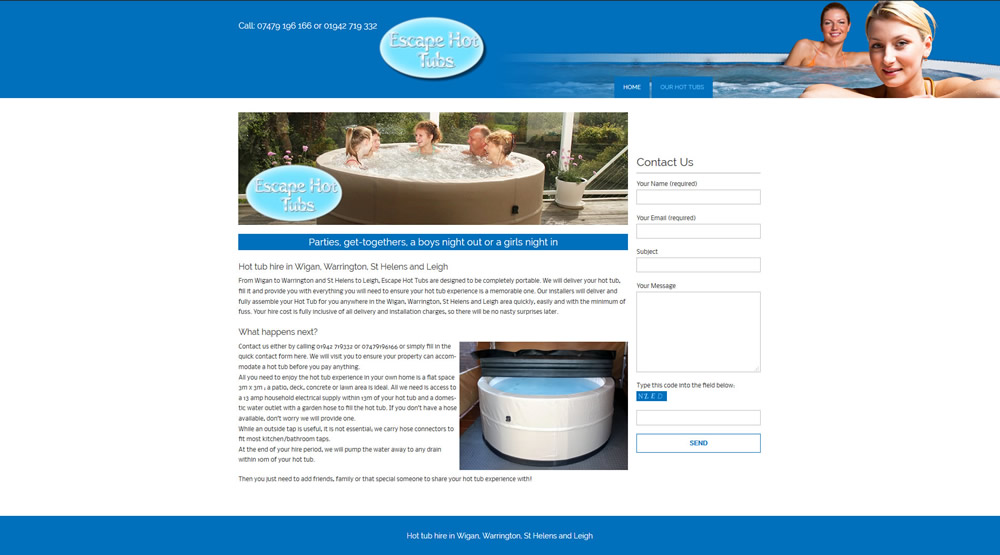 Escape Hot Tubs