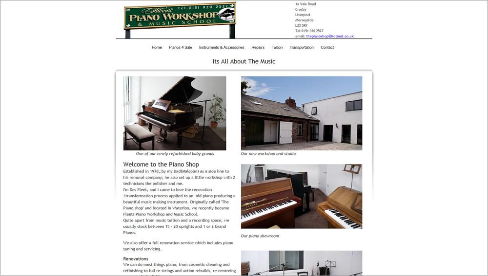 Fleet's Piano Workshop
