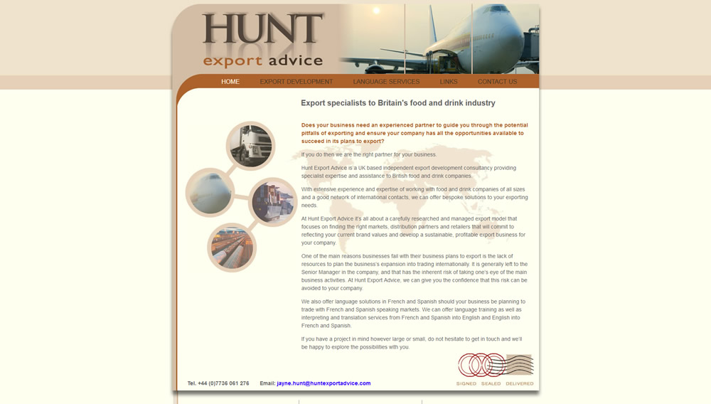 Hunt Export Advice