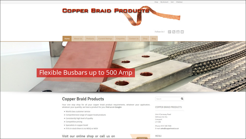 Copper Braid Products